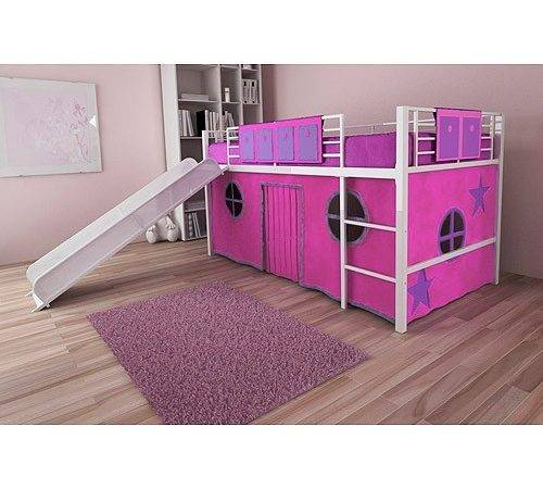 Bunk Beds Slide Girls Loft Bed