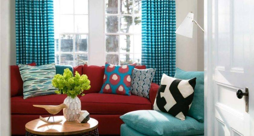 Burgundy Turquoise Living Room Search