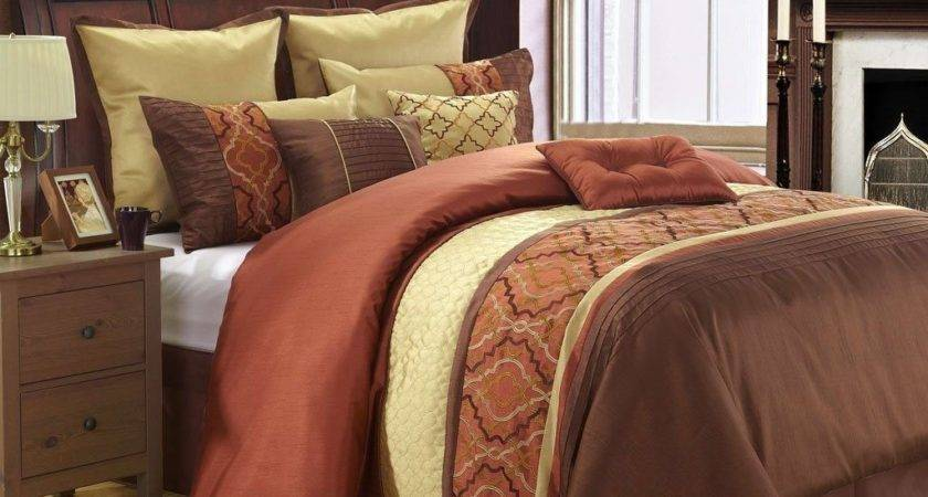 Burnt Orange Bedding Sets Decor Comforter