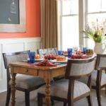 Burnt Orange Dining Room Hgtv