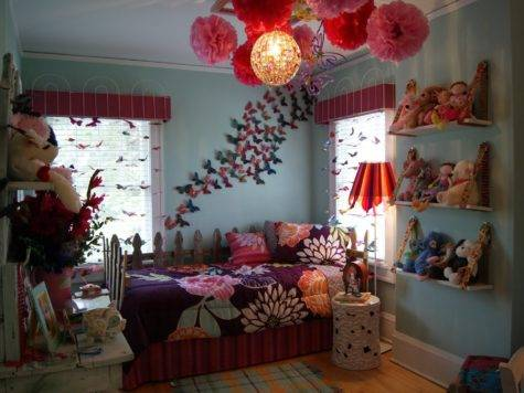 Butterfly Themed Bedroom Budget Interior Designing