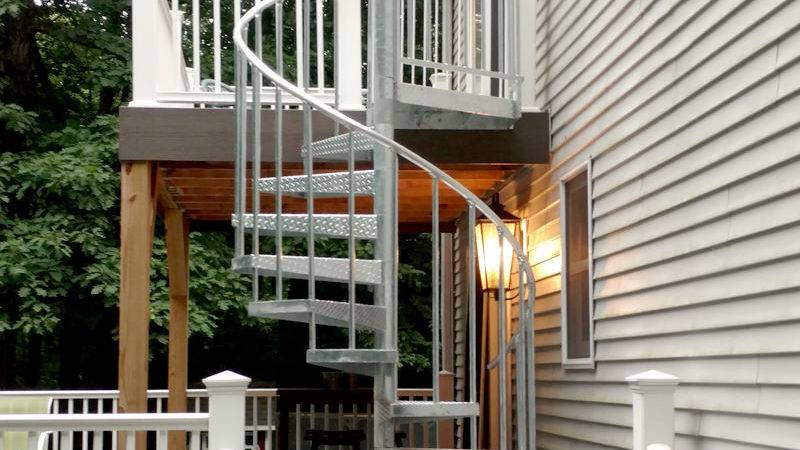 Buy Durable Exterior Spiral Stairs Salter Stair