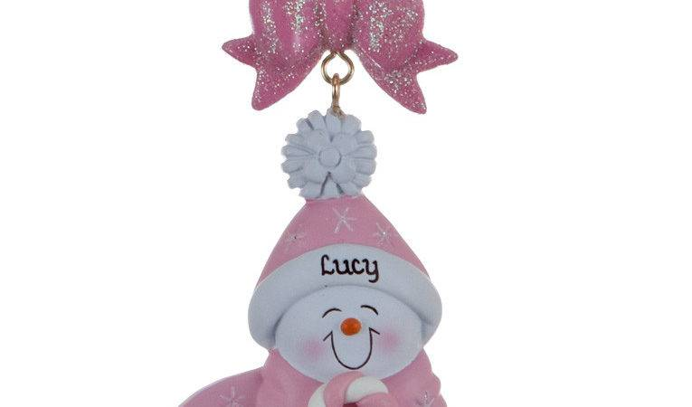 Buy Personalized Baby Christmas Pink