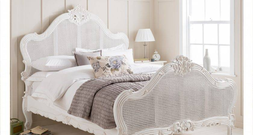 Buy Versailles Louis Antique French Panel Rattan Bed