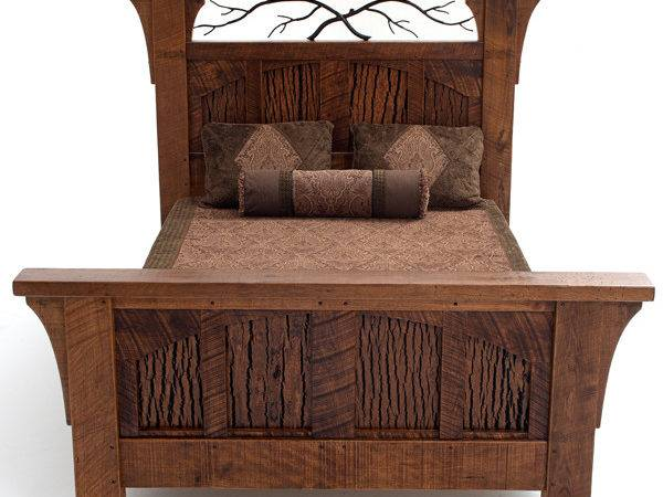 Cabin Bed Rustic Style Refined Mountain Lodge Decor