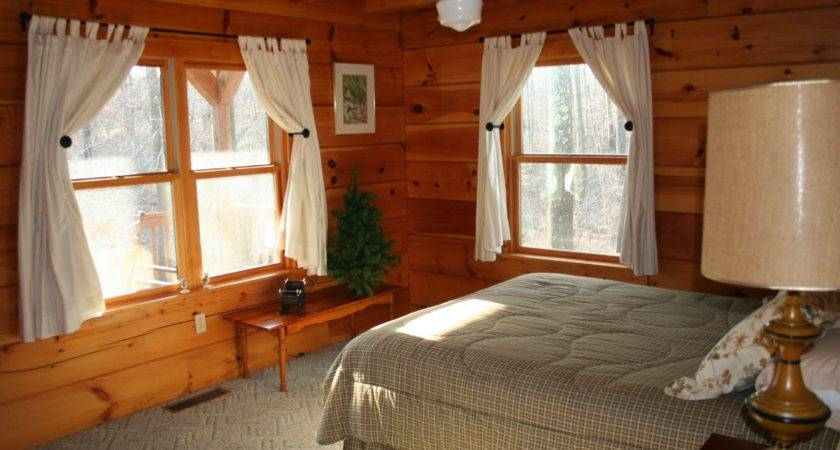 Cabin Bedroom Decorating Ideas Unique Log