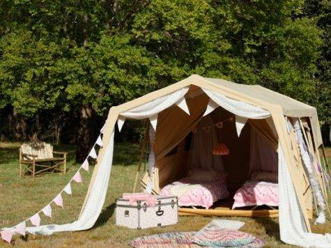 Camping Tent Decorating Ideas