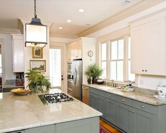 Can Paint Kitchen Cabinets Two Colors Small