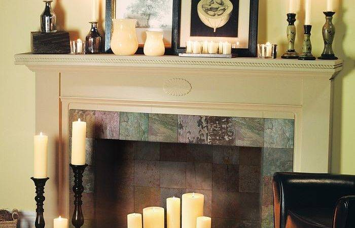 Candle Fireplaces Pinterest Faux