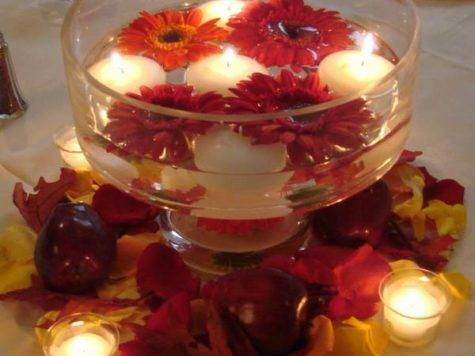 Candles Centerpieces Romantic Table Decorating Ideas