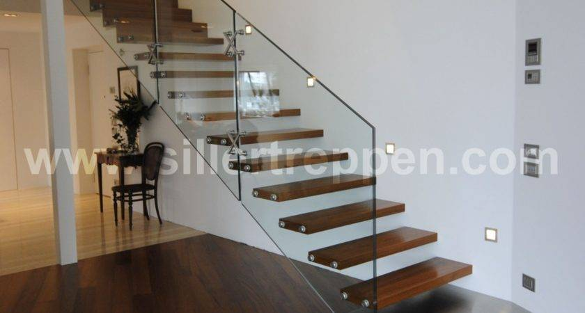 Cantilevered Stairs Staircase