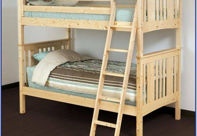 Canwood Loft Bed Base Camp White Zoomie