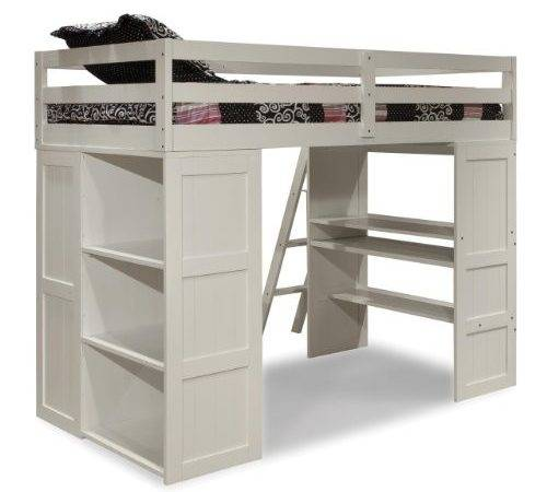 Canwood Skyway Loft Bed Desk Storage Tower Twin