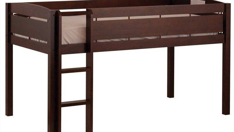 Canwood Whistler Junior Loft Bunk Bed Espresso