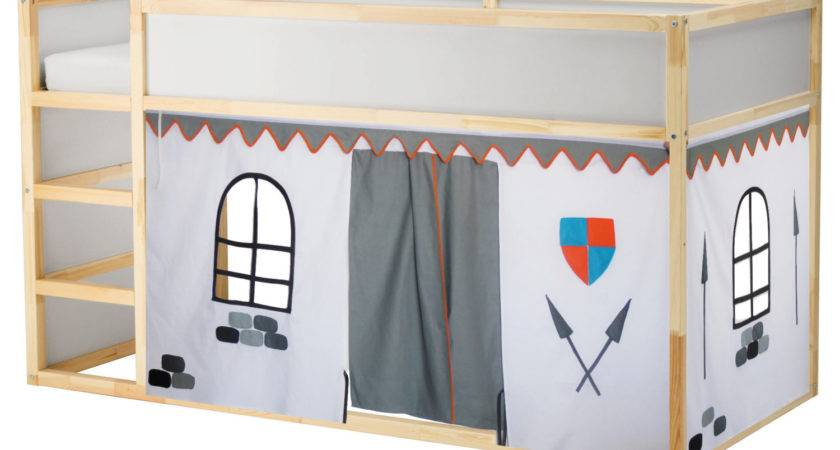 Castle Bed Playhouse Tent Loft Curtain Etsy