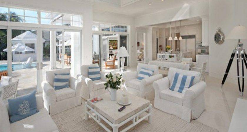 Casual Country Furniture Beach Themed Living Room Ideas