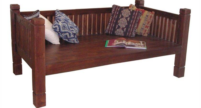 Casual Elements Olt Tahoe Old Teak Outdoor Daybed