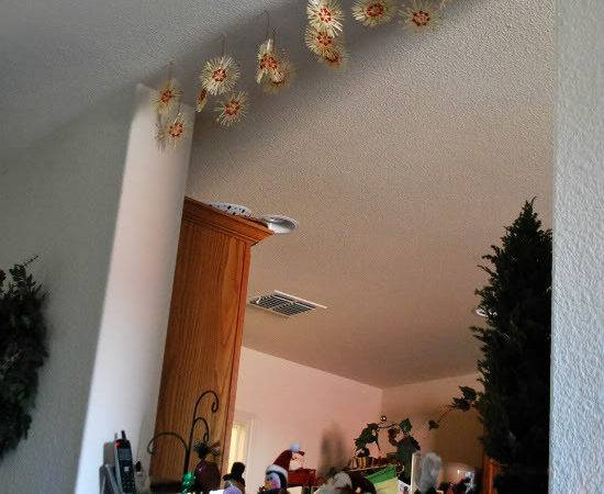 Ceiling Christmas Decorations Letter Recommendation