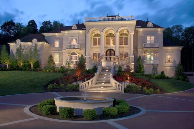 Celebrity Homes Traditional Exterior Nashville