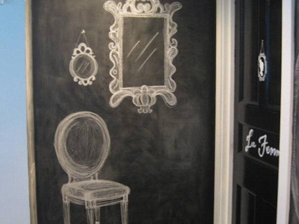 Chalkboard Paint Ideas Writing Walls Becomes Fun