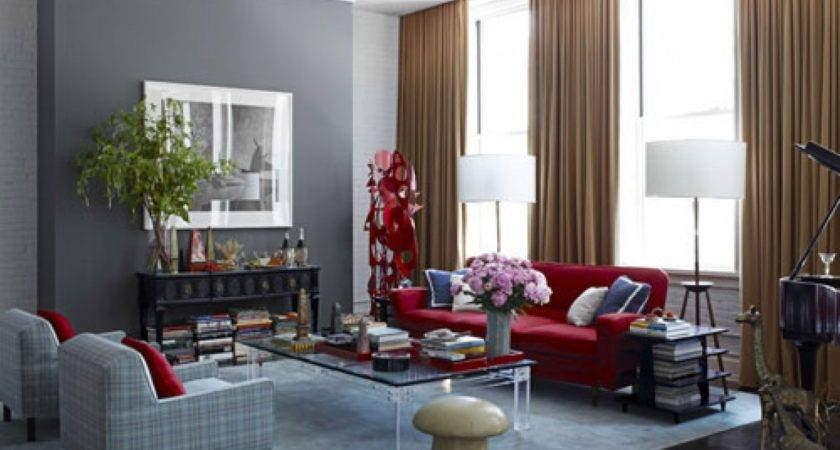 Charcoal Grey Bedroom Red Blue Gray Living Rooms
