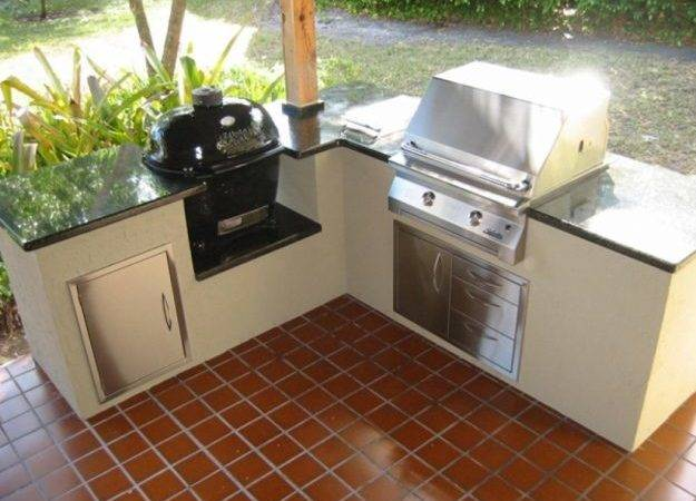 Charcoal Grill Outdoor Kitchen New Interior Exterior