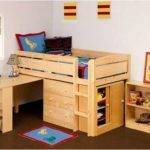 Charleston Storage Loft Bed Desk Futon