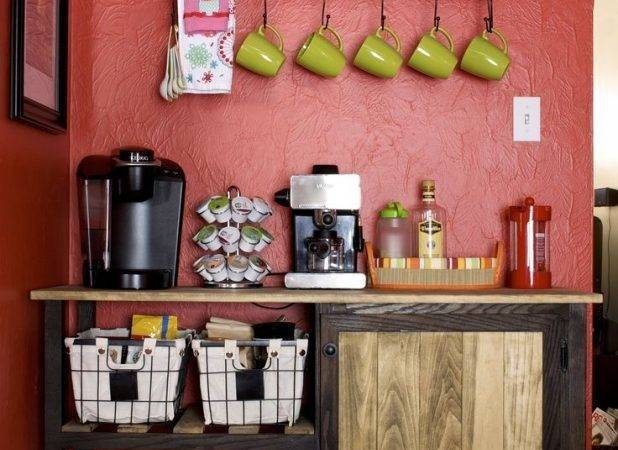 Charming Exquisite Coffee Themed Kitchen Decor Cafe Shop
