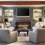 Charming Living Rooms Fireplaces Marble Buzz