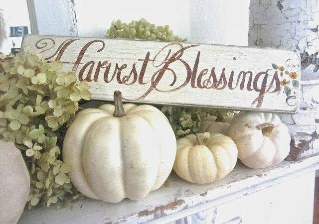Charming White Pumpkin Fall Decorations Your
