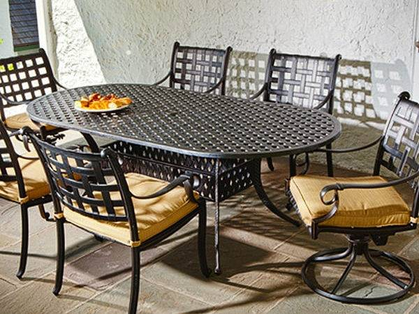 Chateau Outdoor Dining Patio Set Alfresco Home
