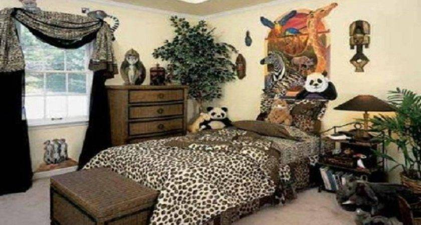 Cheap Decorating Ideas Kids Rooms Animal Jungle