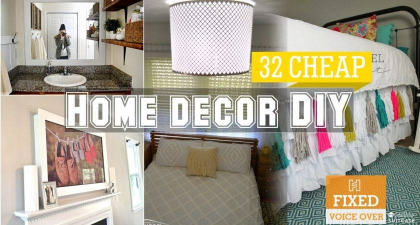 Cheap Home Decor Diy Ideas New Youtube