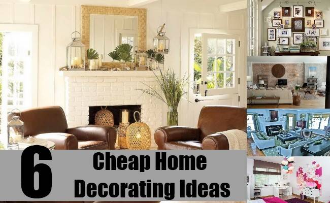 Cheap Home Decorating Ideas Simple Cheapest Way