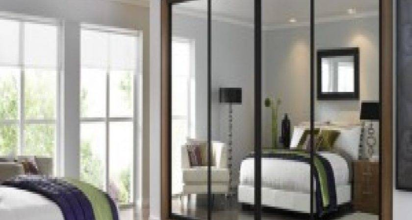 Cheap Mirrored Sliding Wardrobe Doors Mirror