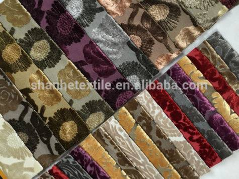 Cheap Velvet Furniture Upholstery Fabric Sale