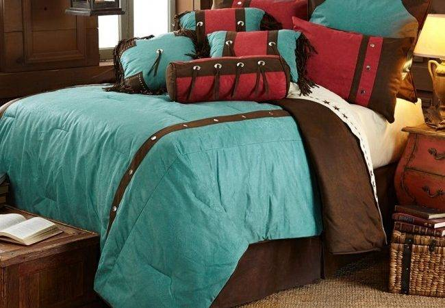 Cheyenne Turquoise Bedding Sets Hiend Accents Rustic