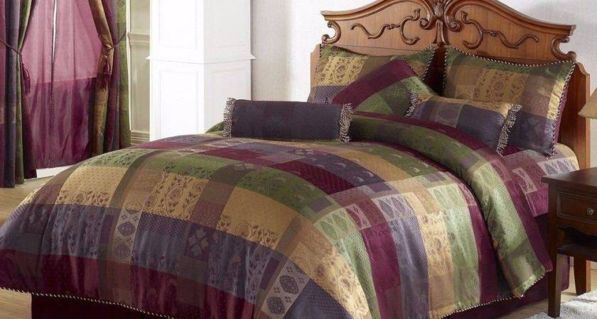 Chezmoi Collection Pcs Moroccan Jacquard Patchwork