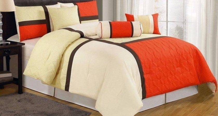 Chezmoi Collection Quilted Patchwork Comforter Set