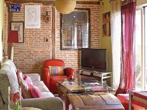 Chic Bohemian Attic Apartment Madrid Interior Design