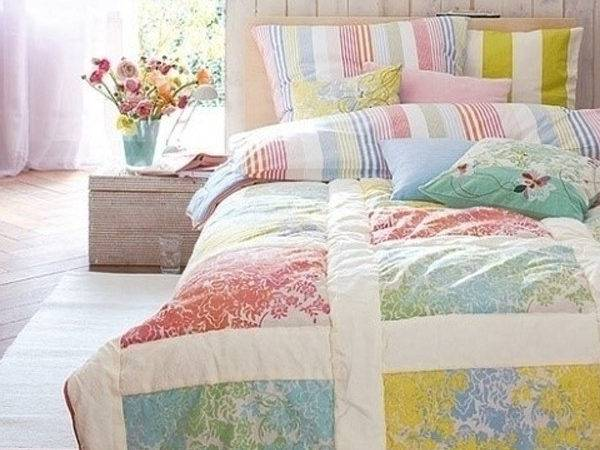 Chic Charming Bedroom Pastel Colour