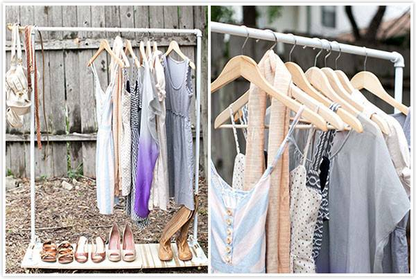 Chic Diy Clothes Rack Ideas