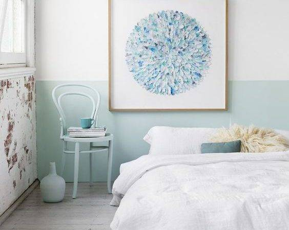 Chic Half Painted Walls Have
