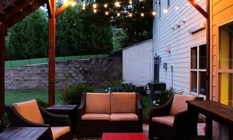 Chic Outdoor Patio String