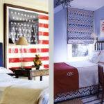 Chic Red White Blue Rooms Love All Year