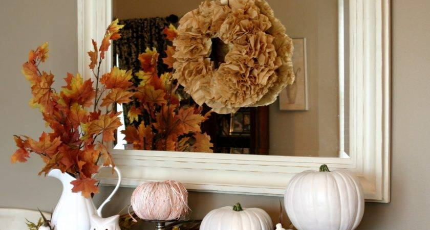 Chic Shoestring Decorating Heart White Pumpkins