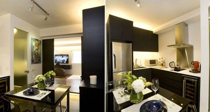 Chic Small Apartment Interior Design Hong Kong