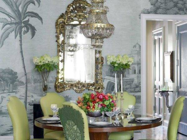 Chic Tablescapes Dining Rooms Enriched Decorative Rugs
