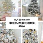 Chic White Christmas Tree Decor Ideas Digsdigs