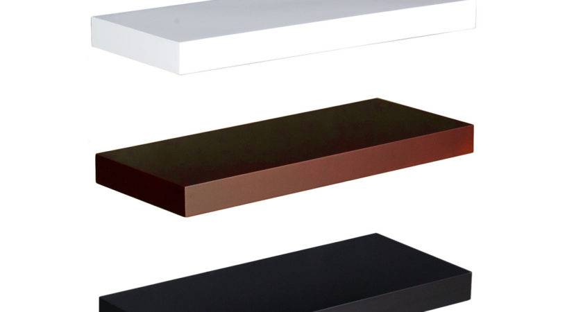 Chicago Chocolate Inch Floating Shelf Southern